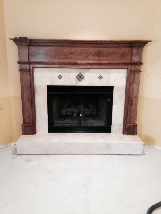Wood Fireplace Mantel Surround Part - 38: I Would Recommend This Item To A Friend.