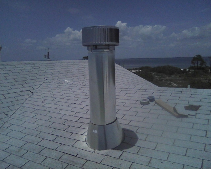 Gas Fireplace Chimney Caps : Chimney products stove pipe caps flue wood
