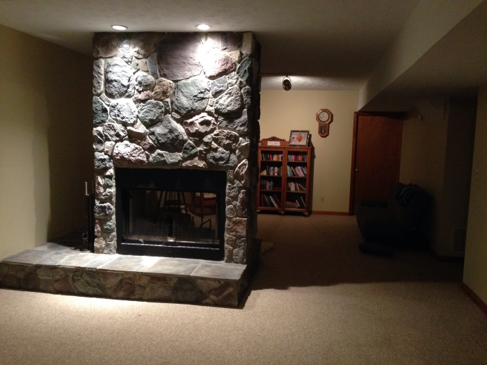 See Through Gas Fireplace Island Free Standing Fireplaces