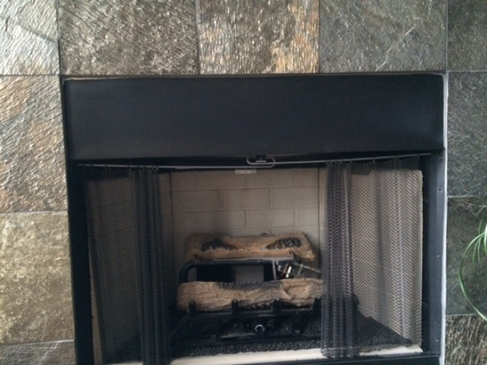 Protect your fireplace from excessive heat with a fireplace hood from efireplacestore.com!