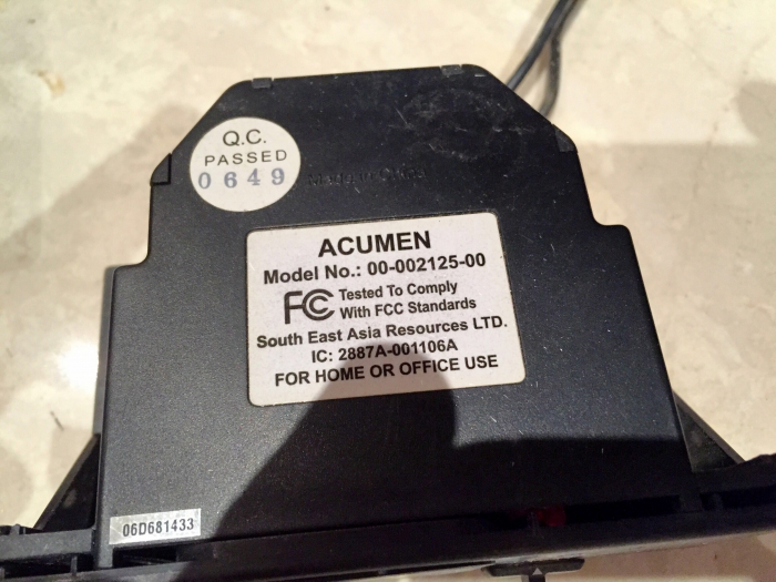 Acumen RCK-K Manual On/Off and Thermostat DC Remote Control Kit