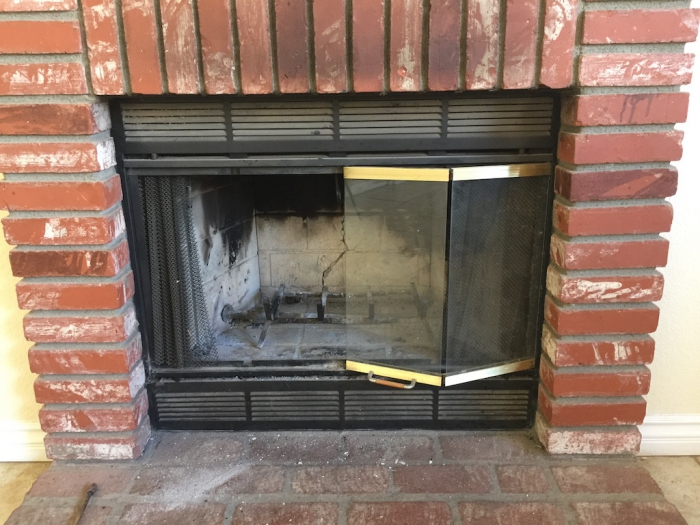 infrared logs deluxe door wrought piece gas small products old english napoleon direct insert vent panels fireplace with iron