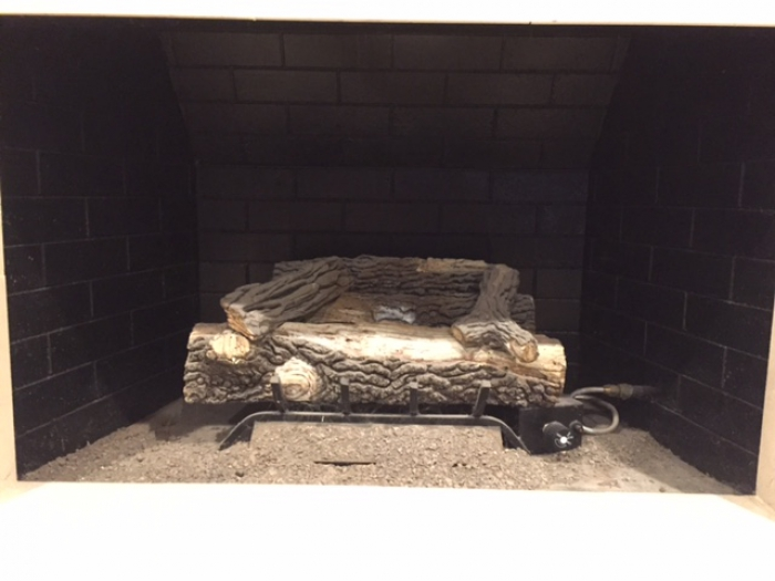 Gas Fireplace Uses A Lot Of Natural Gas