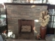 Empire Traditional Black Cast Iron Fireplace Insert Surround For Large Innsbrook